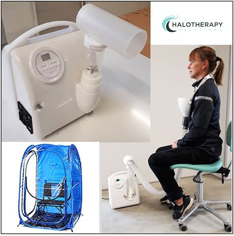 halopod machine for salt therapy at home