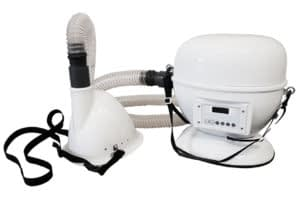 portable halogenerator for horse salt therapy