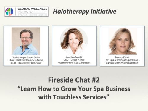 Touchless Spa Services – The GWI Halotherapy Initiative's Fireside Chat #2